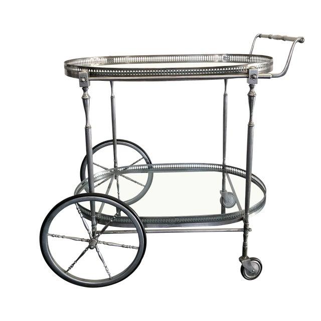 Italian Mid-Century Bar Cart For Sale