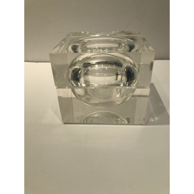 1960s Mid-Century Modern Lucite Ice Bucket For Sale In New York - Image 6 of 9