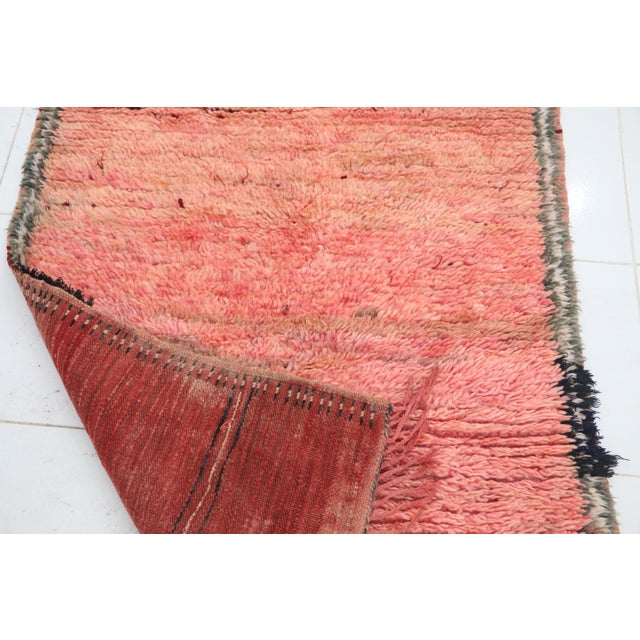 """1970s Talsint Vintage Moroccan Rug, 2'11"""" X 4'1"""" Feet For Sale - Image 5 of 6"""