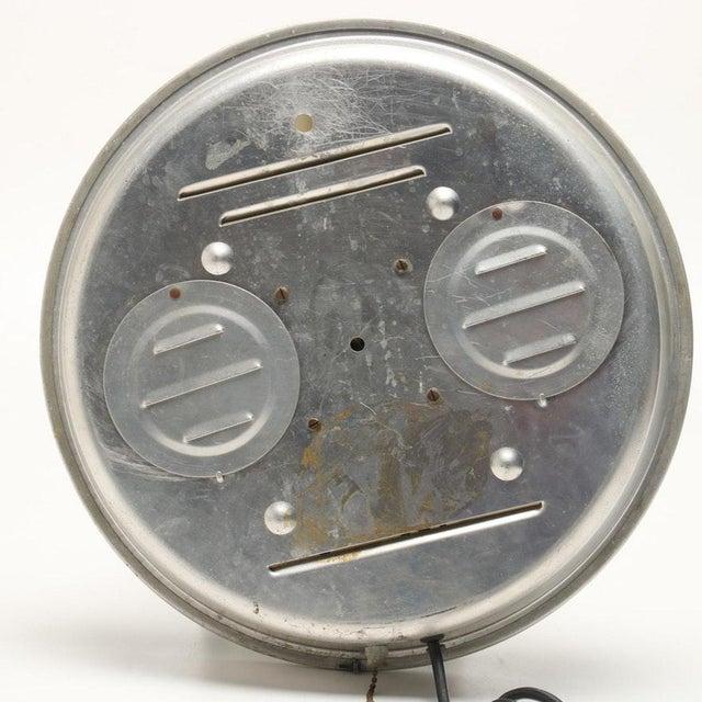 Metal Bulova Advertising Wall Clock For Sale - Image 7 of 8
