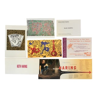 Keith Haring Show Announcements - Set of 7 For Sale