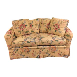 Vintage Vanguard Floral Chintz Loveseat For Sale