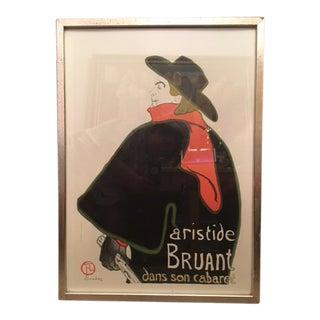 Henri De Toulouse-Lautrec Post Impressionism Lithograph For Sale
