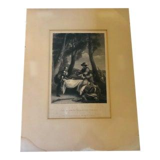 Antique English Print