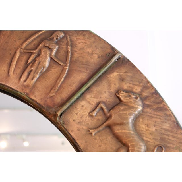 Traditional Astrology Relief Mirror For Sale - Image 3 of 9