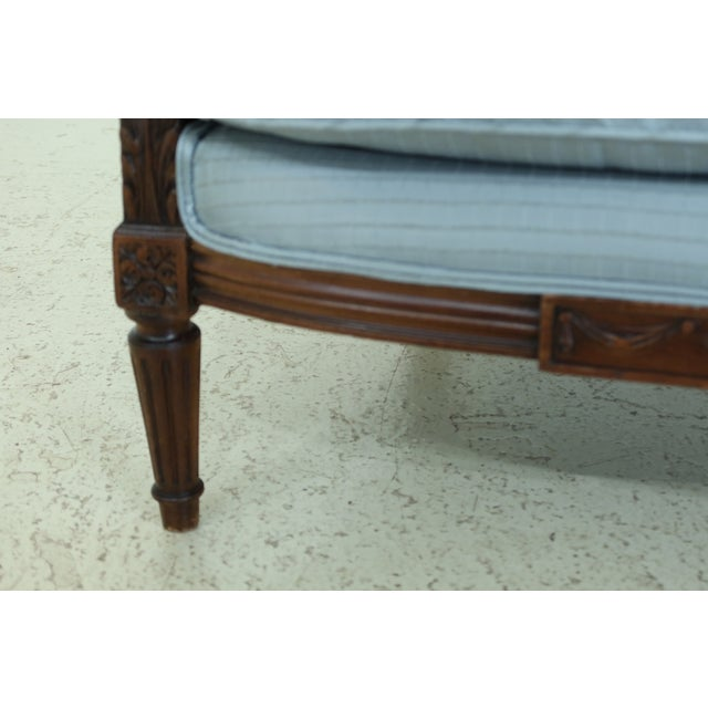 Louis XV French Style Bergere Chairs - a Pair For Sale - Image 4 of 13