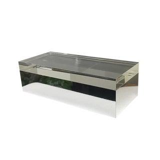 20th Century ItalianAlessandro Albrizzi Lucite Box