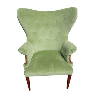 Vintage Butterfly Wingback Chair