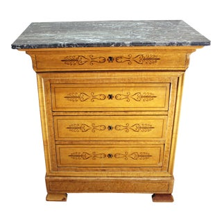 Mid-19th Century Louis Philippe 4-Drawer Commode For Sale