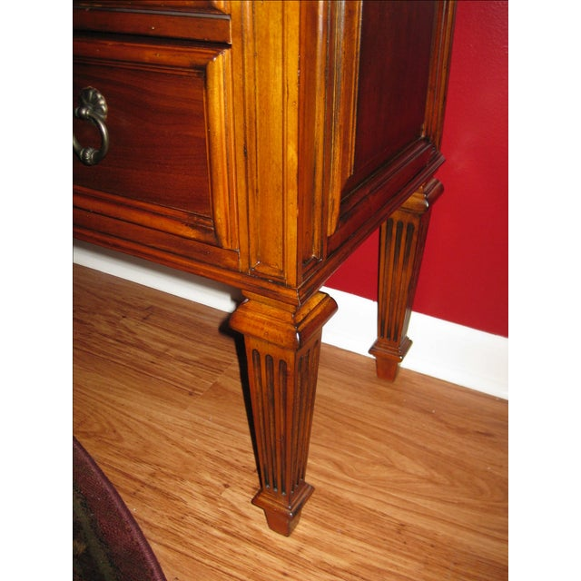 Ethan Allen Tuscany Bonner Console Table - Image 4 of 11