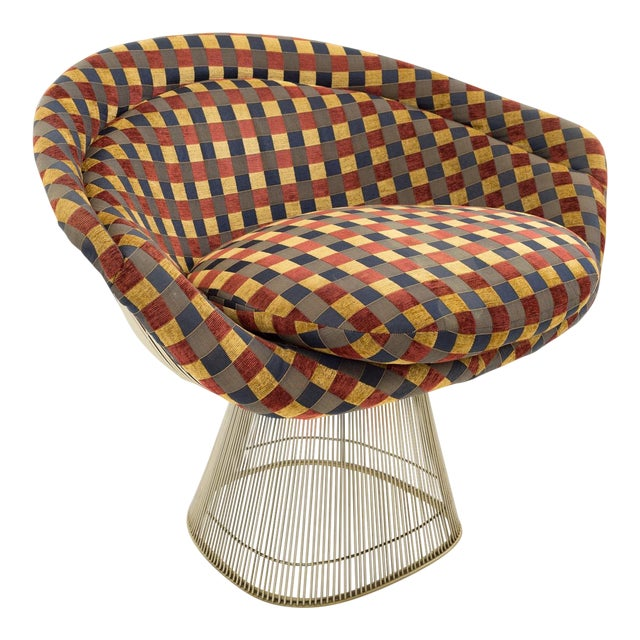 Warren Platner Mid Century Modern Lounge Chair For Sale