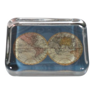 Vintage Old World Paper Weight For Sale