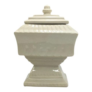 1950s MC Coy Pedestal Lidded Box For Sale
