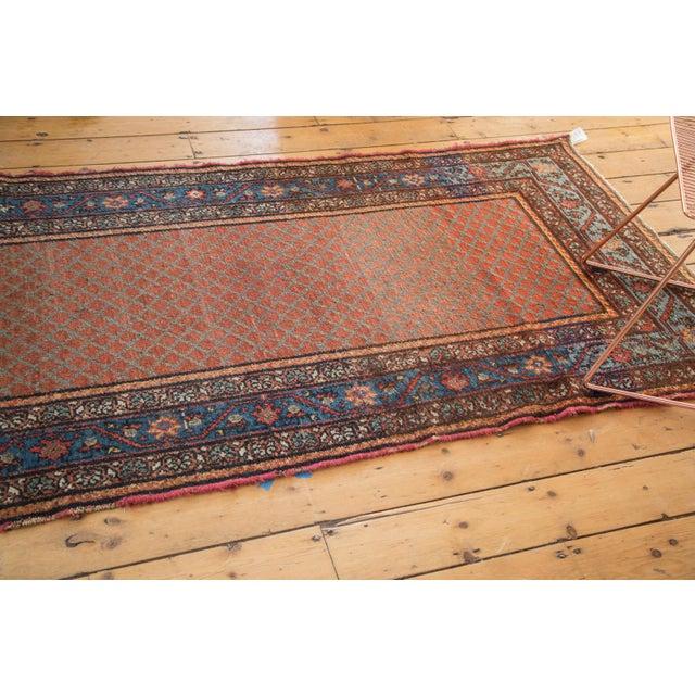 "Islamic Vintage Hamadan Rug Runner - 3'7"" x 6'10"" For Sale - Image 3 of 10"