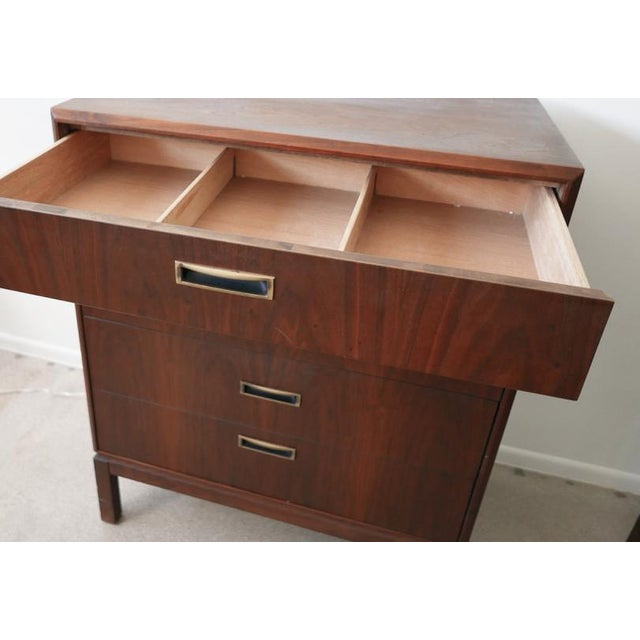 Mid-Century Modern Founders Chest & Gentlemen's Chest For Sale - Image 3 of 11