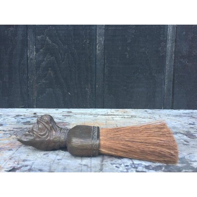 Vintage Bulldog Whisk Broom/Shoulder Brush - Image 8 of 10