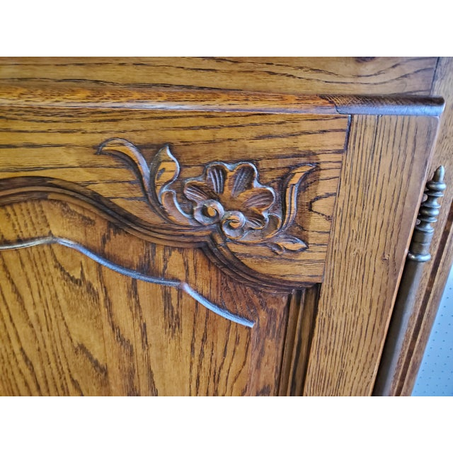 20th Century French Parquet Top Buffet/Sideboard For Sale - Image 11 of 12