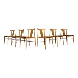 Smile Dining Chairs by Andreu World - Set of 6 For Sale