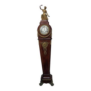 19thC French Figural Clock For Sale