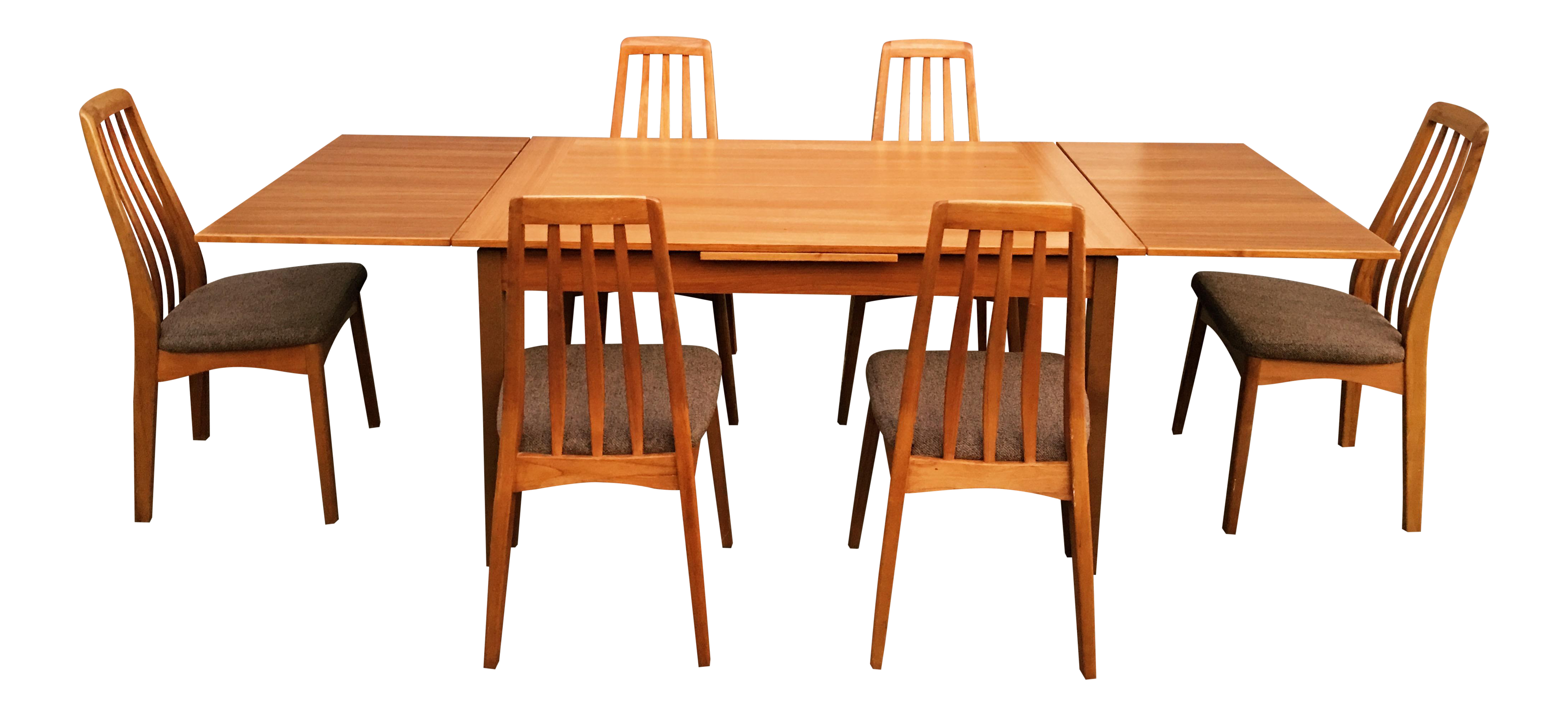 Benny Linden Design Mid Century Dining Table 6 Chairs