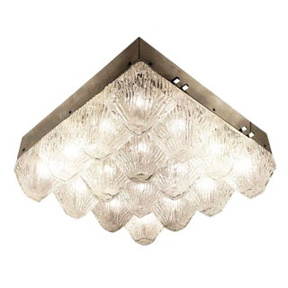 Mid Century Sixteen Light Chandelier For Sale