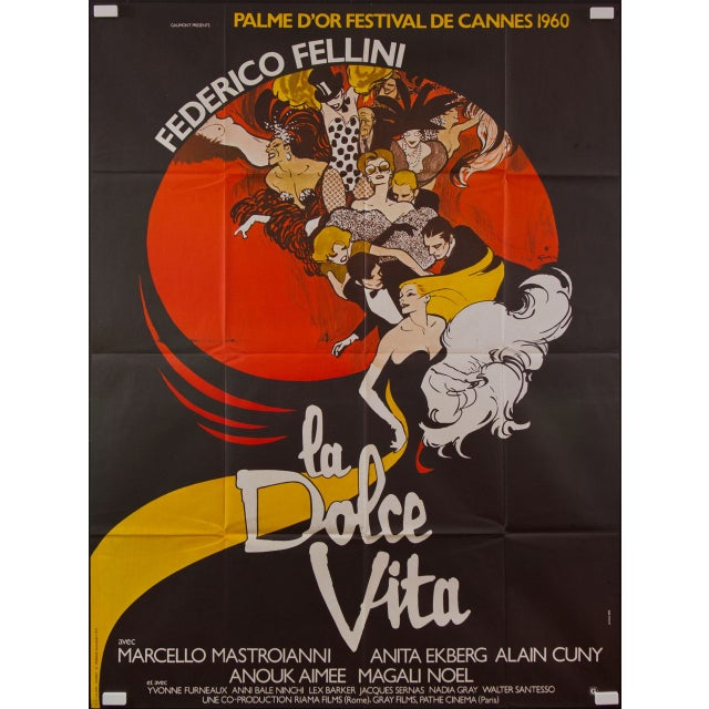La Dolce Vita French Film Poster - Image 2 of 2
