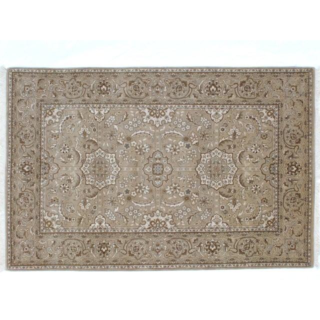 Islamic Leon Banilivi Tabriz Rug - 4' x 6' For Sale - Image 3 of 6
