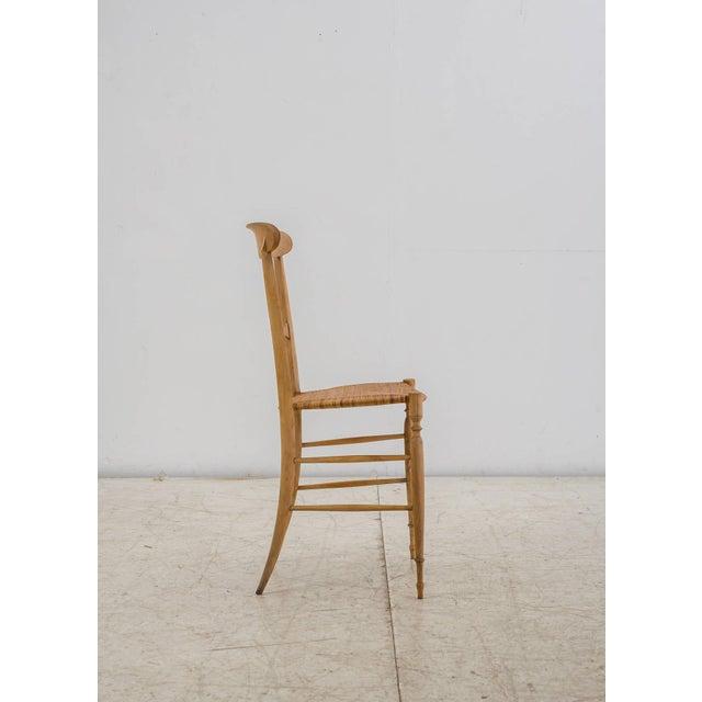 Early 19th Century Italian Campanino Chair by Chiavari Giuseppe Gaetano Descalzi, 1807 For Sale - Image 5 of 10
