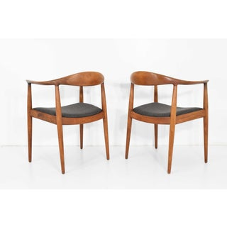 Hans Wegner Round Chair/The Chair by Johannes Hansen- a Pair Preview