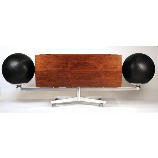 Clairtone Project G-1 Model T10 Rosewood Stereo System For Sale - Image 10 of 11