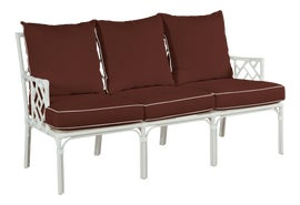 Image of Brown Outdoor Sofas