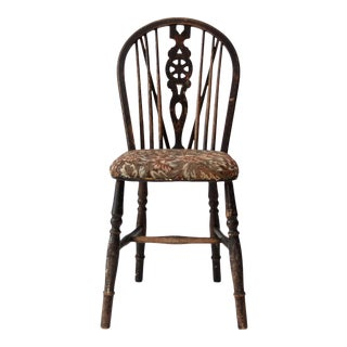 Antique Windsor Brace-Back Chair