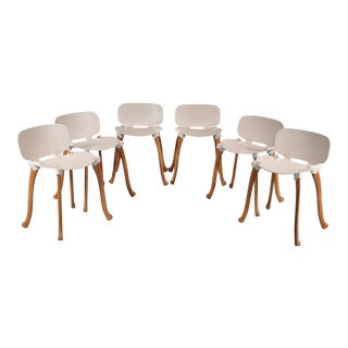 Set of 6 Axe Chairs by Floris Schoonderbeek for Studio Weltevree, Netherlands 2006-2009