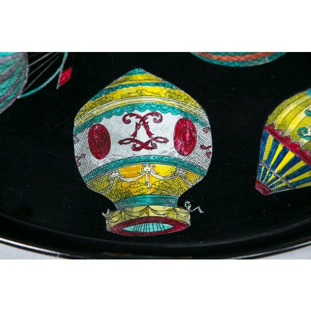 Italian Piero Fornasetti Hot Air Balloon Tray For Sale - Image 3 of 8
