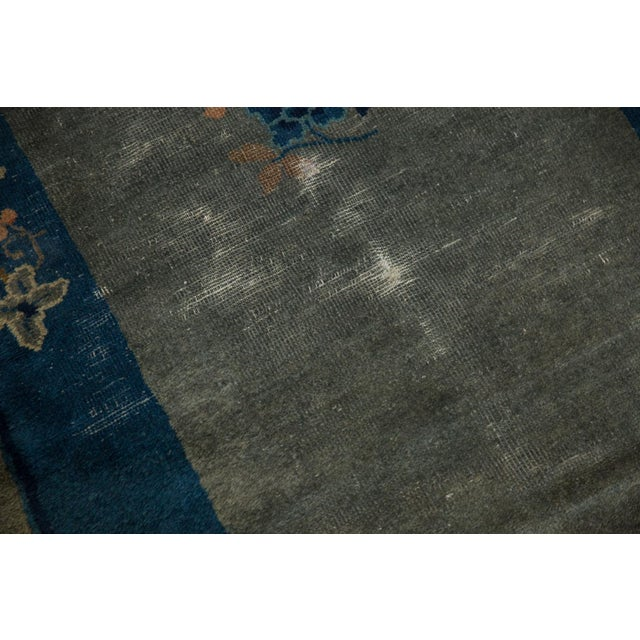 "Blue Antique Peking Rug - 3'1"" X 4'9"" For Sale - Image 8 of 13"