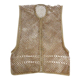Bamboo Vest, South China C.1880 For Sale