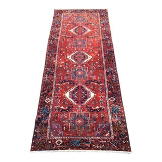 "Handknotted Persian Karaja Area Rug - 5' X 10' 10"" For Sale"