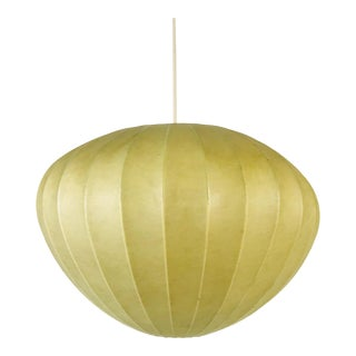 1960s Mid-Century Modern Cocoon Pendant Lamp, Italy For Sale