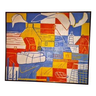Modernist Imaginative Abstract Painting