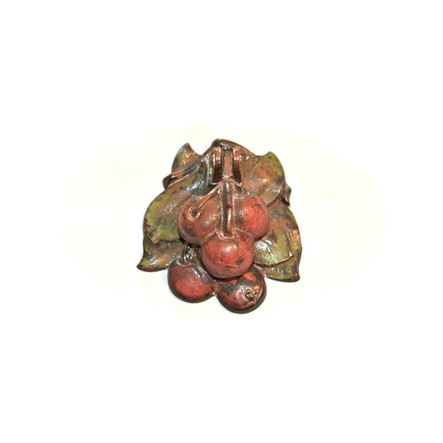 Green Hubley Cherries Door Knocker For Sale - Image 8 of 8