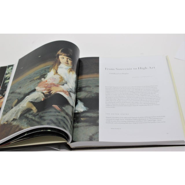 """Great Expectations"" John Singer Sargent Brooklyn Museum Book and Signature Blue Museum Printed Bag For Sale In West Palm - Image 6 of 12"