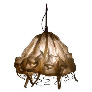Pendant Light of Vintage Parachute For Sale