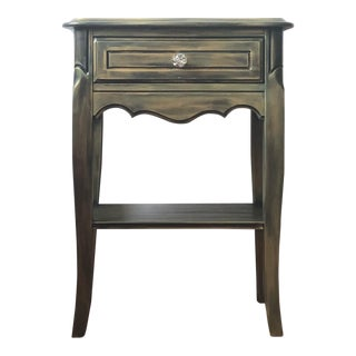 Boho Chic French Provincial Nightstand/End Table
