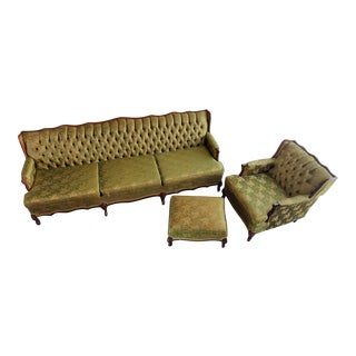French Louis XVI Style Set of Grand Proportions! For Sale