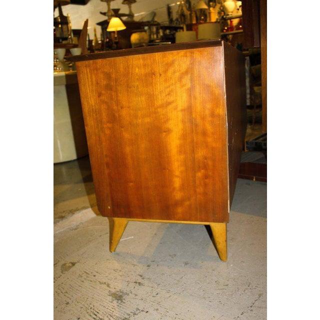 1950s Mid-Century Modern Renzo Rutili for John Stuart Cherrywood Dresser For Sale - Image 10 of 11