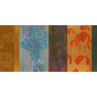"Trujillo Contemporary Abstract Canvas ""Suspension"" For Sale"
