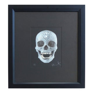 """""""For the Love of God"""" Glazed & Diamond Dust Lithograph, 479/1000 by Damien Hirst For Sale"""