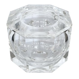 Large Lucite Ice Bucket by Alessando Albrizzi For Sale