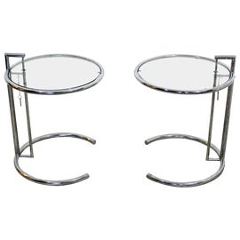 Image of Chrome Nesting Tables