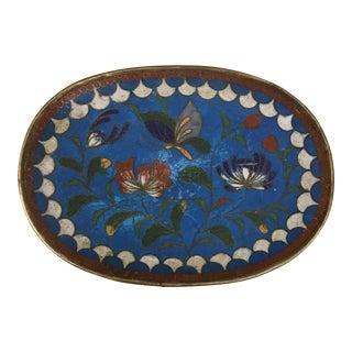 Dish - Enamel on Copper